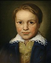 A portrait of the 13-year-old Beethoven by an unknown Bonn master
