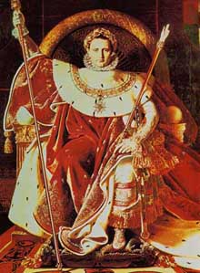 Napoleon, Emperor of France by Jean-Auguste-Dominique Ingres