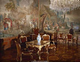 Napoleon's room at Schoenbrunn Palace