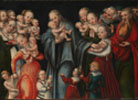 Christ Blessing the Children, Lucas Cranach the Elder