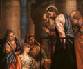 woman touching the hem of Jesus garment, Veronese