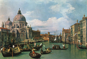 Canaletto The Grand Canal and the Church of the Salute