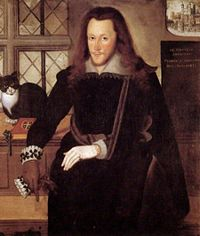 Henry Wriothesley, 3rd Earl of Southampton, 1603, in the Tower, attributed to John de Critz
