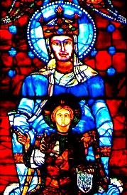 Our Lady of Chartres - Stained Glass Window