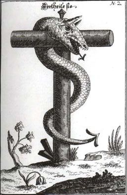 Serpent and Cross