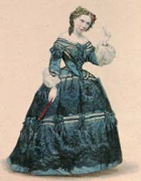 Desiree Artot as Rosina in The Barber of Seville