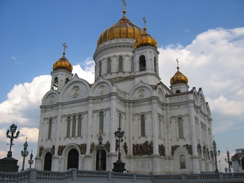 The Cathedral of Christ the Saviour, Moscow