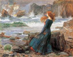 Miranda - The Tempest by John William Waterhouse