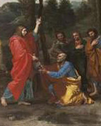 The Ordination by Nicholas Poussin