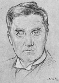 Vaughan Williams in 1919,                                 by William Rothenstein