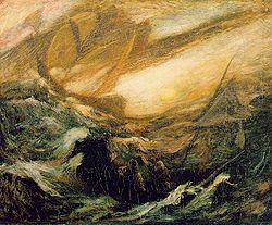 The Flying Dutchman (c. 1896), by Albert Pinkham Ryder