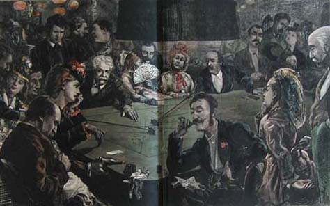 Gambling at Baden Baden 1872