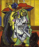 Weeping Woman by Picasso 1937